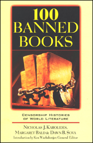 books banned for sexual, religious, social, and political reasons